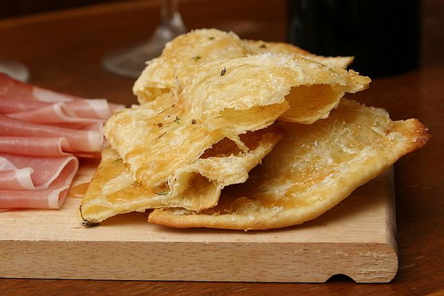 flatbreads with honey, sea salt and thyme - would be a great addition ...