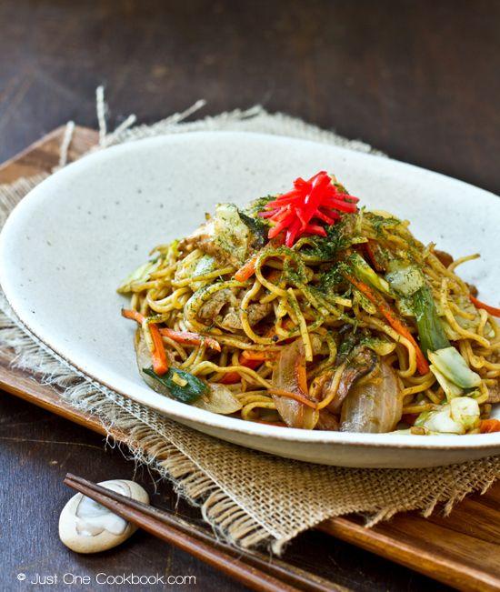 Yakisoba | Japanese Stir Fried Noodles | Easy Japanese Recipes at ...
