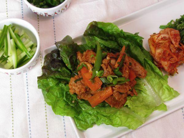 KoreanPork lettuce wraps   yum 2.0   Pinterest