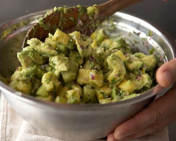 Pineapple And Cucumber Guacamole Recipe — Dishmaps