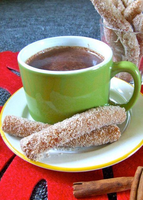 spicy churros | breakfast | Pinterest