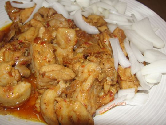 Spicy Chicken Breasts Recipe — Dishmaps