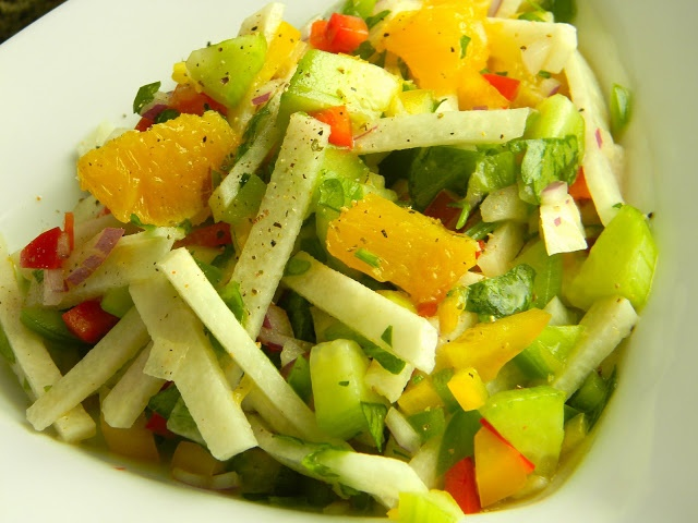 Jicama Salad | Yummy Foods | Pinterest