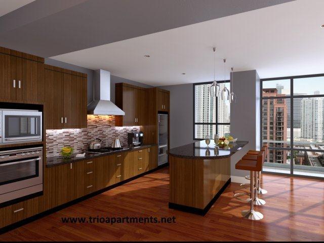 Penthouse Kitchen Dream Apartment Pinterest