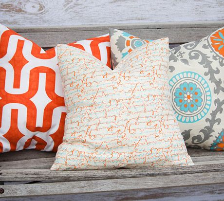 New Fall Pillow Cover Styles, $12.95