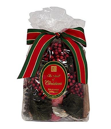 Aromatique the smell of christmas decorative large bag dillards