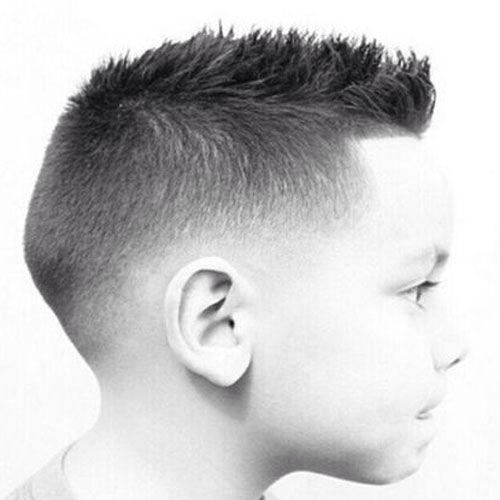 Tagli capelli corti ragazzino