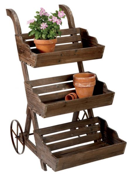 Flower Plant Stand For Herb Garden Gardening 101 And