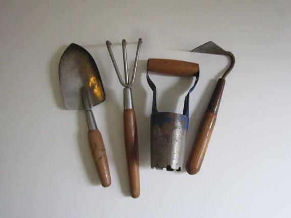 Vintage gardening tools for Gardening tools vintage