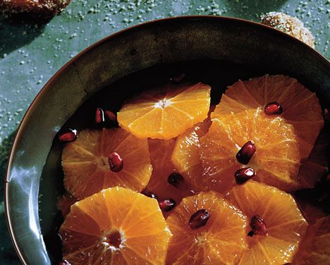 Clementines in Ginger Syrup | Recipe