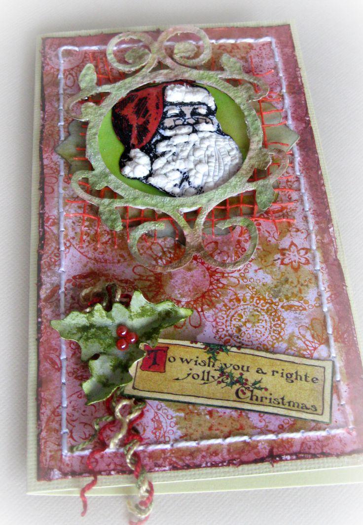 Christmas tag tim holtz pinterest for Christmas tags on pinterest
