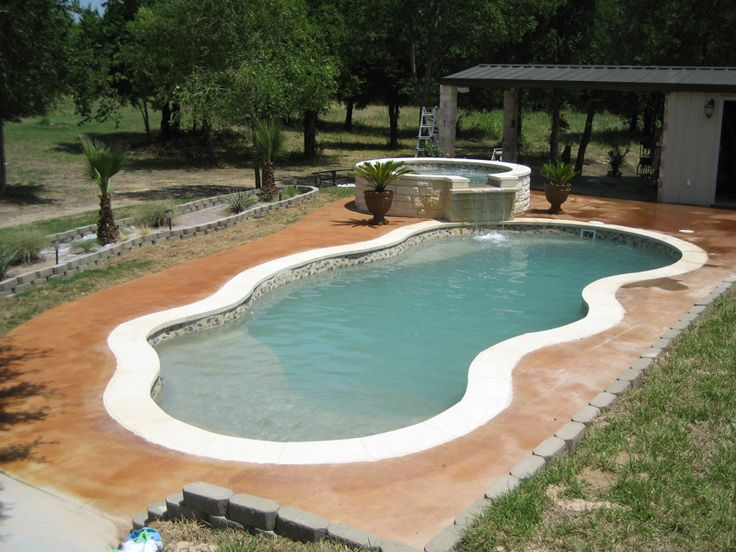 Viking pools free form designs fiji pool ideas for Viking pools