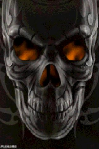 Evil skulls animated skulls on fire skulls etc pinterest
