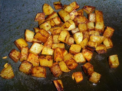 Potatoes With Indian Spices | Recipe