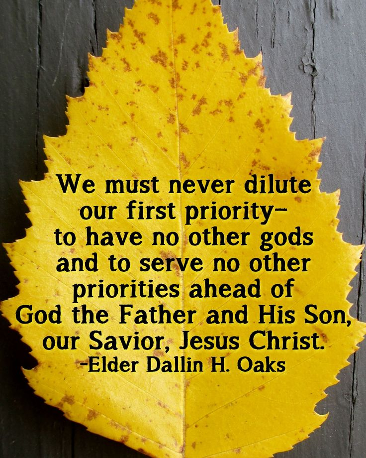 Is christ my first priority in life?