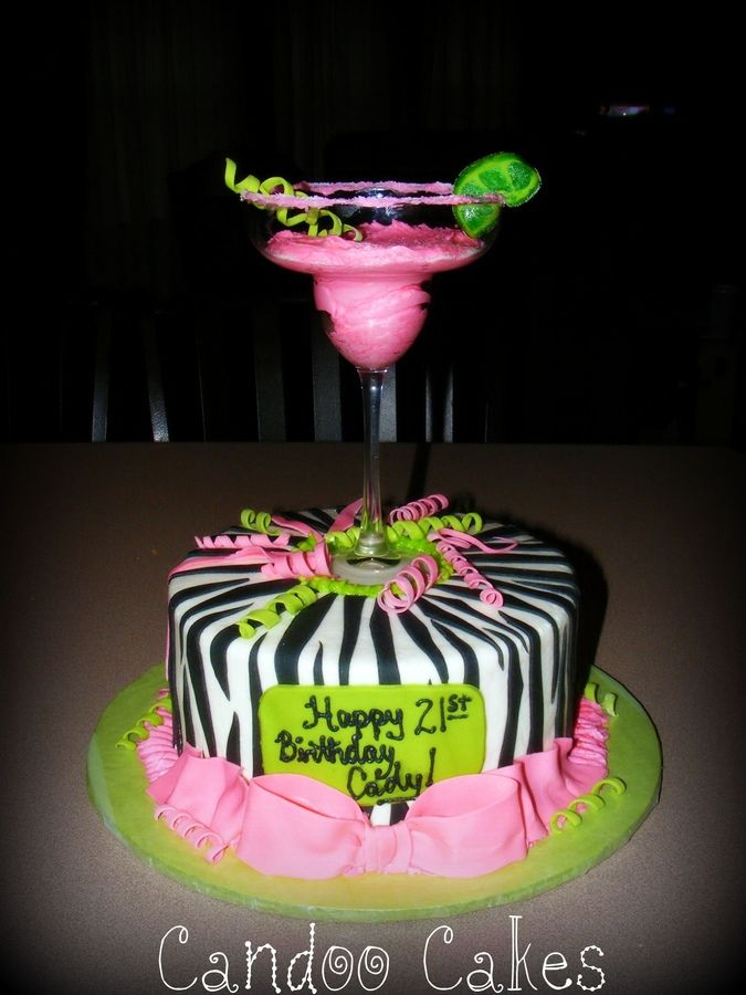 Margarita Cake | Surprise Party | Pinterest
