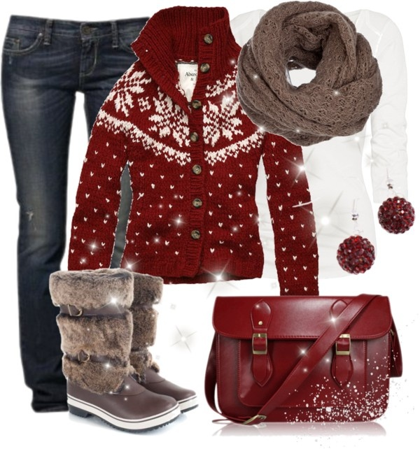 """Fun in the Snow"" by wishlist123 on Polyvore"