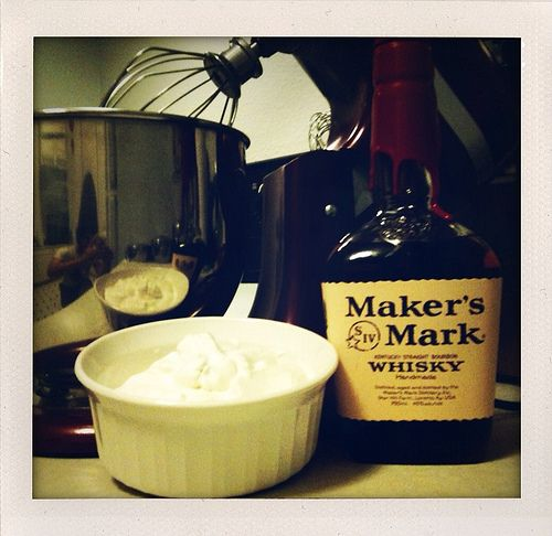 Bourbon Whipped Cream | Eat, Drink and Be Merry | Pinterest