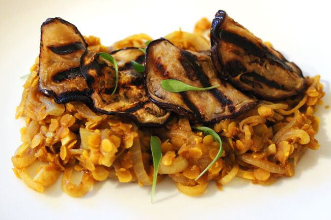 Curried Dhal with Grilled Eggplant   Whole Food Nutrition   Pinterest