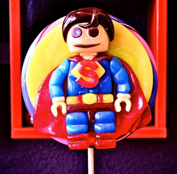 Superman Lollipop