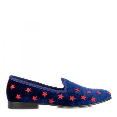 Shop now: Del Toro Prince Albert Velvet Loafers