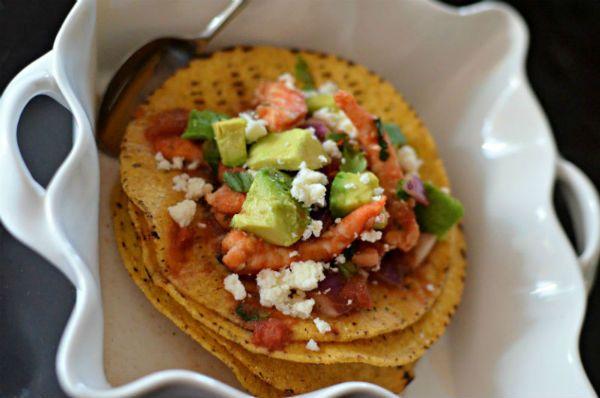 Shrimp Ceviche Tostadas | Food | Pinterest