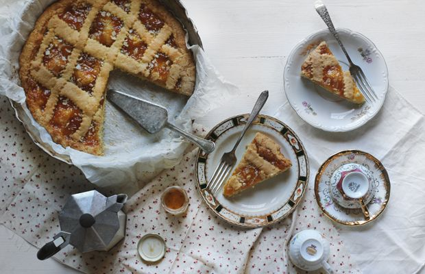 Apricot Crostata | Sweet Tooth: Desserts | Pinterest