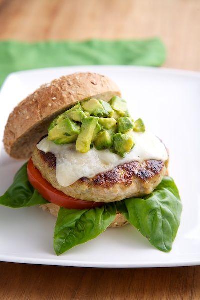 California Grilled Chicken Pesto Burger | Foodz | Pinterest