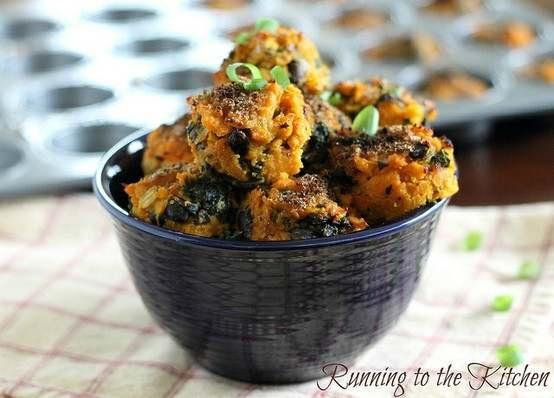 sweet potato kale bites. | Favorite Recipes | Pinterest