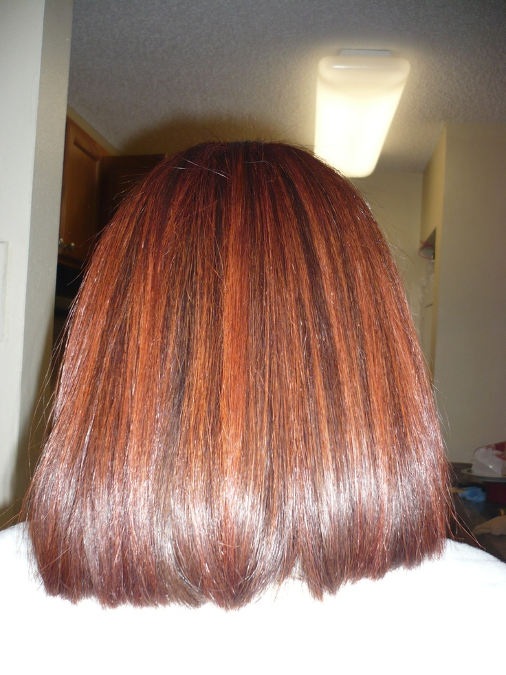 Red Hair Color With Copper Highlights  GYPSY HEART  Pinterest