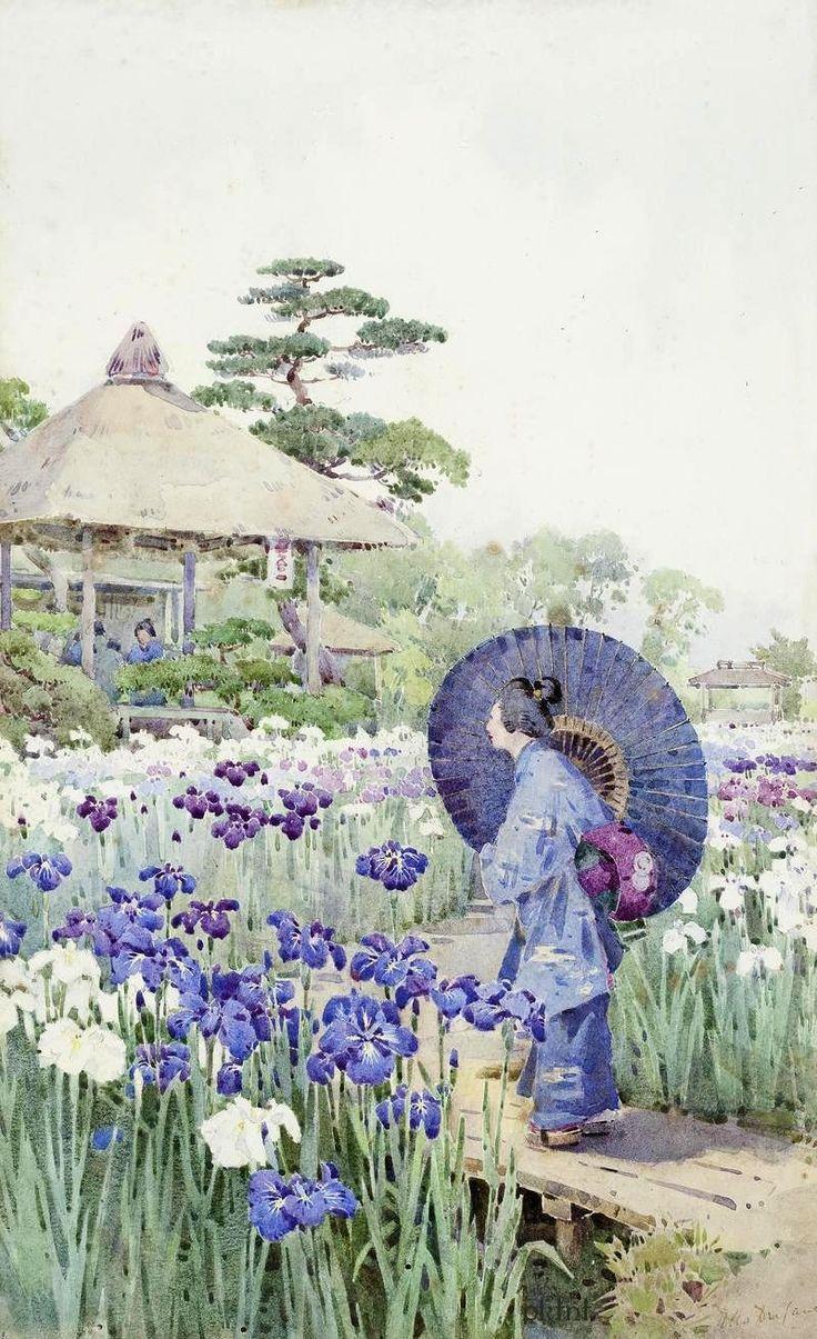 Du cane 1880 1940 прогулка по японскому саду