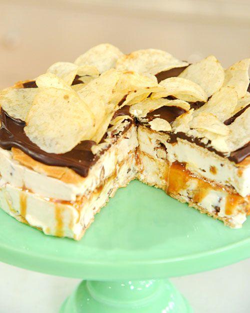Jimmy Fallon's Late Night Snack Ice Cream Cake | Recipe