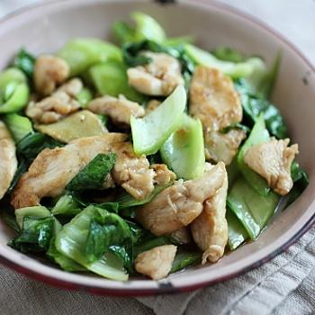 Bok Choy Chicken | Main Dishes - Oriental | Pinterest