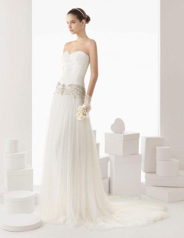 Escote vestido de novia
