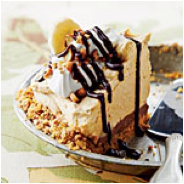 Peanut Butter-Banana Icebox Pie Southern Living, June edition