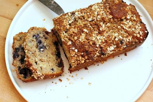 Blueberry Banana Oatmeal Bread | Tried & True Recipes | Pinterest