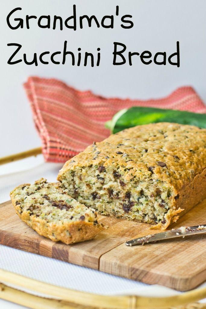Grandma's Zucchini Bread on MyRecipeMagic.com. This is our family ...