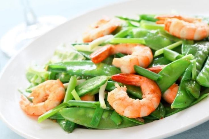 Shrimp and Snow Peas | | Pinterest