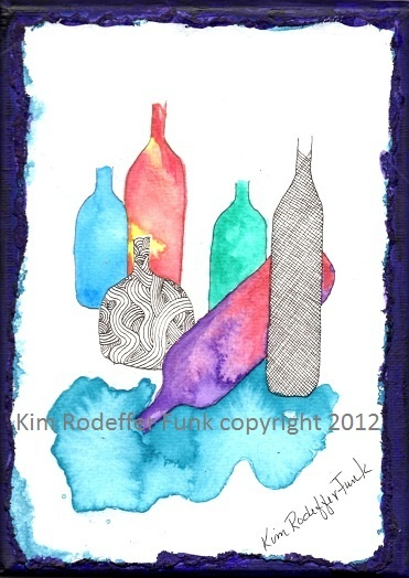 Party Time. Artist Kim Rodeffer Funk