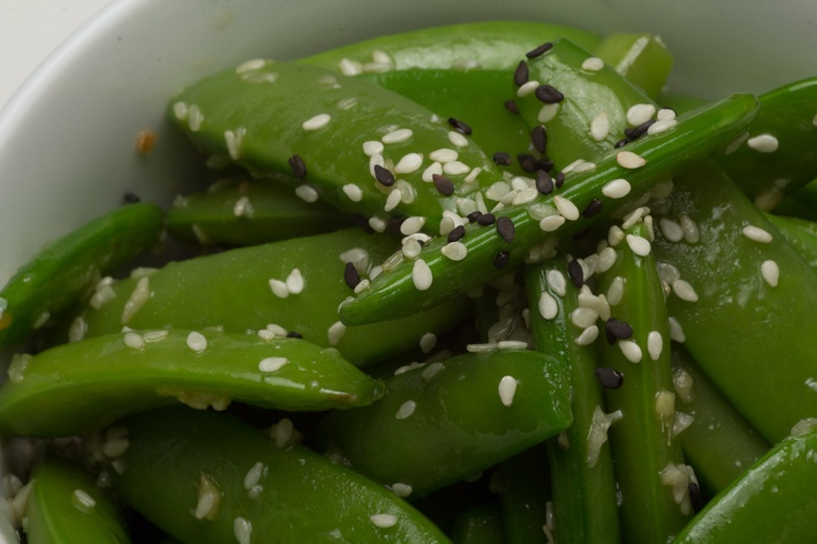 Asian Snap Pea Sauté - High Protein and Fiber combine to regulate ...
