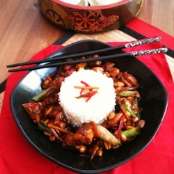 Gung Bao Chicken | Recipes | Pinterest