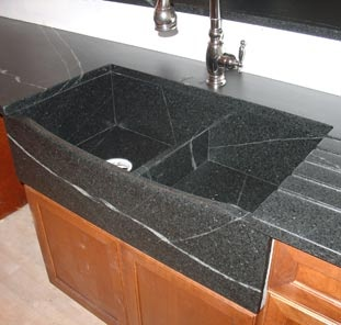 soapstone kitchen sink home kitchen appliances pinterest