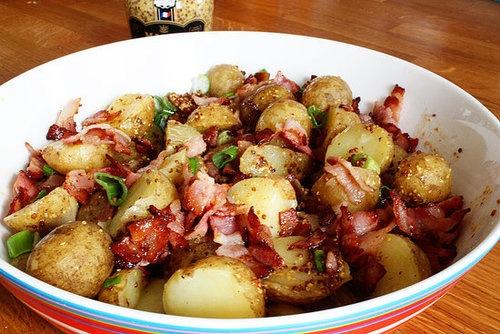 Warm Potato Salad | Recipes | Pinterest
