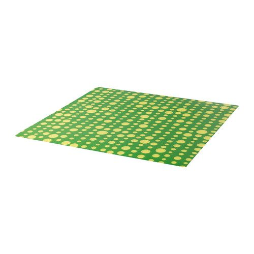 ljuda place mat ikea protects the table top surface and reduces noise