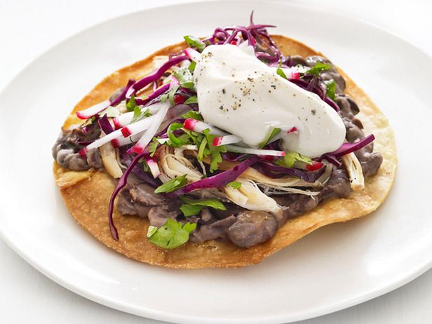 Chicken and Black Bean Tostadas These tostadas are a home run with ...