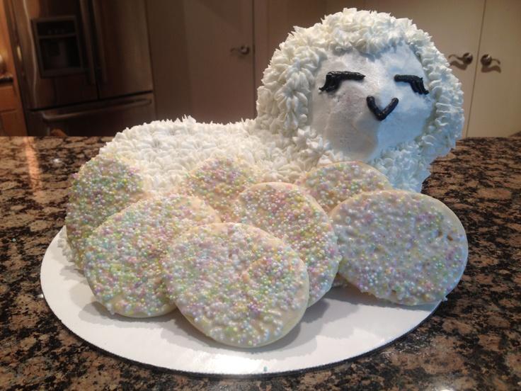 Karli's Easter Lamb Cake! | Cakes By Karli | Pinterest