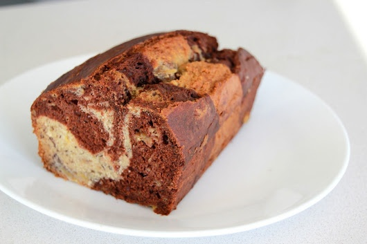chocolate banana marble bread | bread and spreads | Pinterest