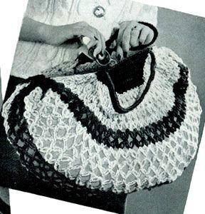 Shopping Bag Free Crochet Patterns crochet Pinterest