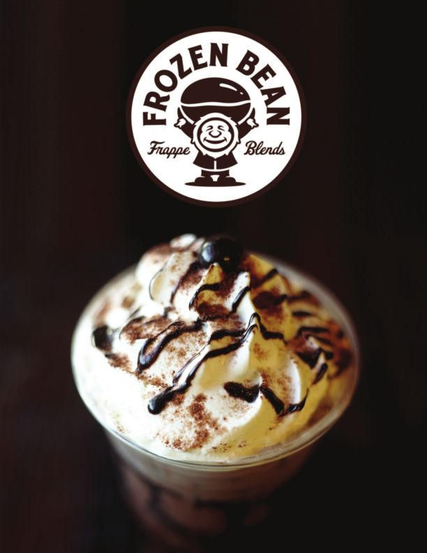 Frozen Bean's delicious Belgian Dark chocolate Frappuccino creation, drink it Ice blended or make it a hot sipping chocolate.