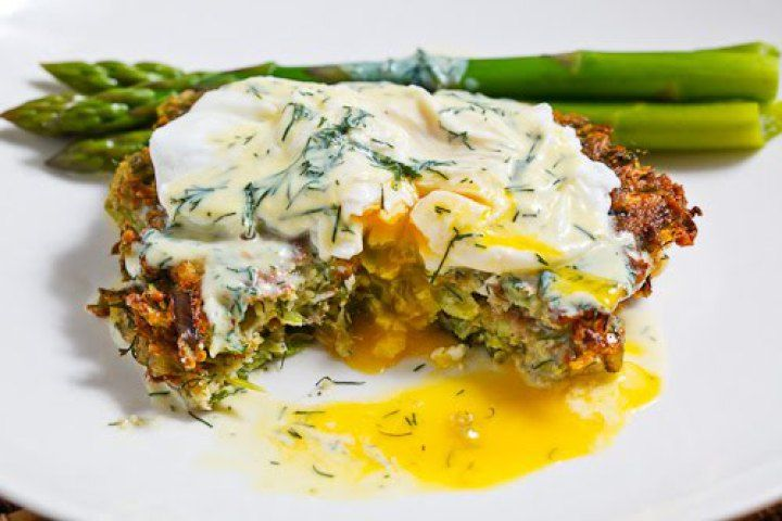 Asparagus and Feta Fritters Recipe | Appetizers and Dips | Pinterest